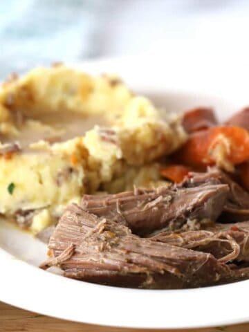 rump roast made in the slow cooker