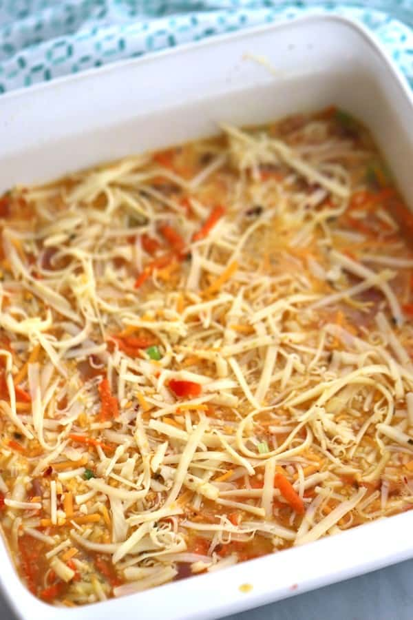 This is the best breakfast casserole recipe. You'll love the layers of flavor!