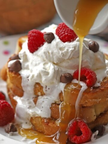 Coconut French Toast and Coconut Syrup--A dream come true for every coconut lover!!
