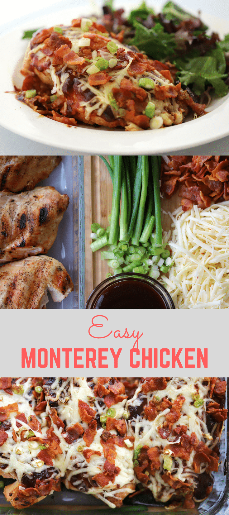 Monterey Chicken is a family favorite. It's easy enough for a weekday meal and fancy enough for company. thecarefreekitchen.com