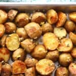 Herb Roasted Potatoes, delicious every time! | thecarefreekitchen.com