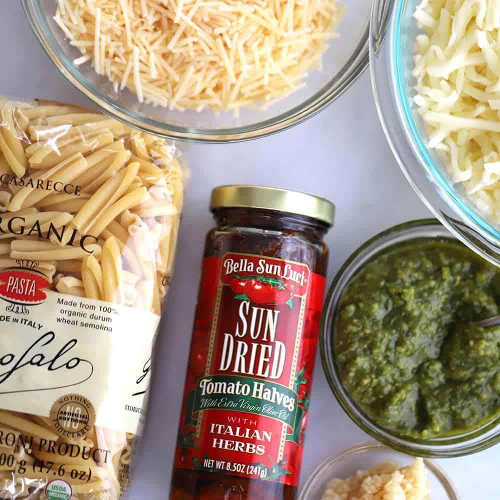 Sundried Tomato Pasta Bake | thecarefreekitchen.com