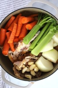This chicken stock recipe is easy and delicious!