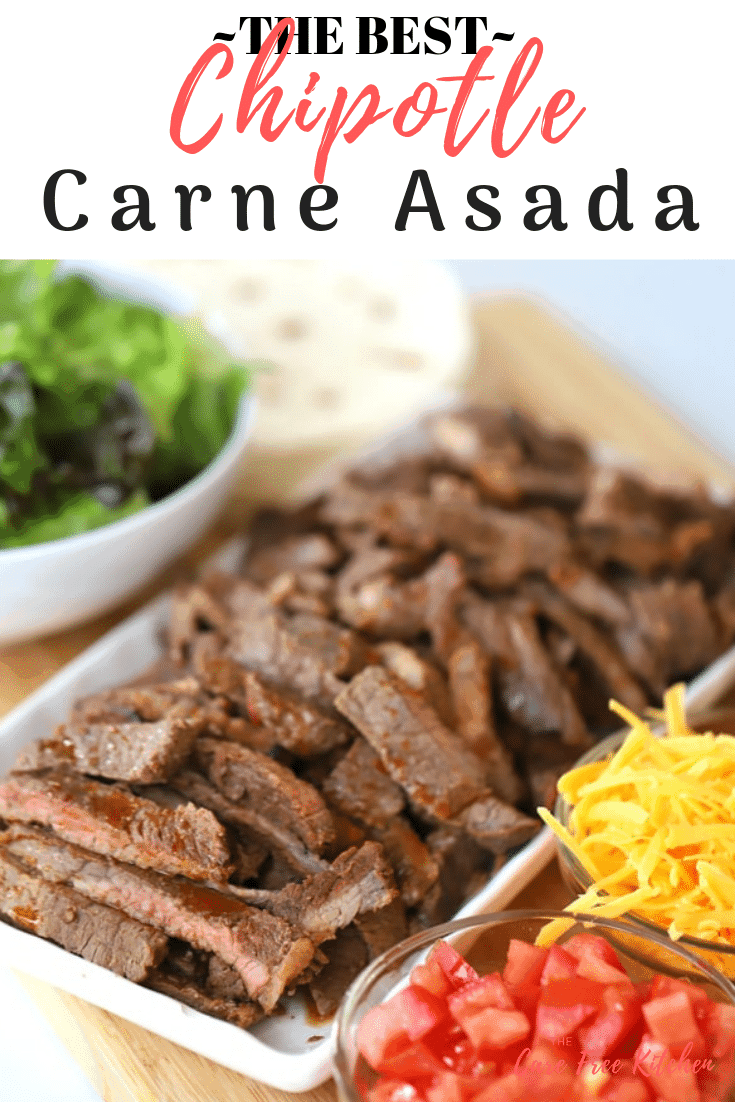 carne asada and taco ingredients