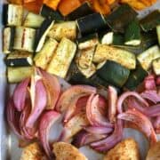 Sheet Pan Chili Lime Chicken and Vegetables is a simple and delicious family meal! thecarefreekitchen.com