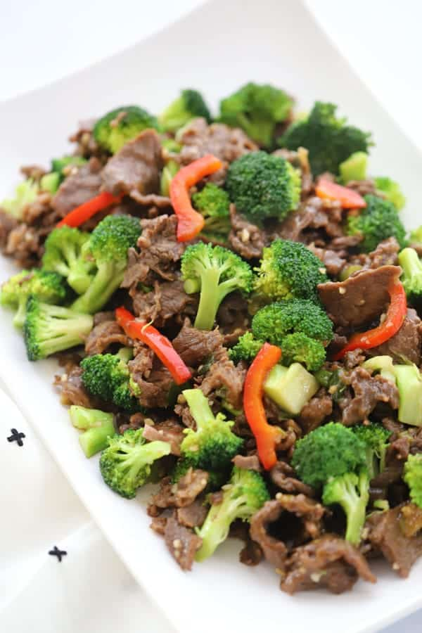 Homemade Teriyaki marinade for beef and broccoli stir fry