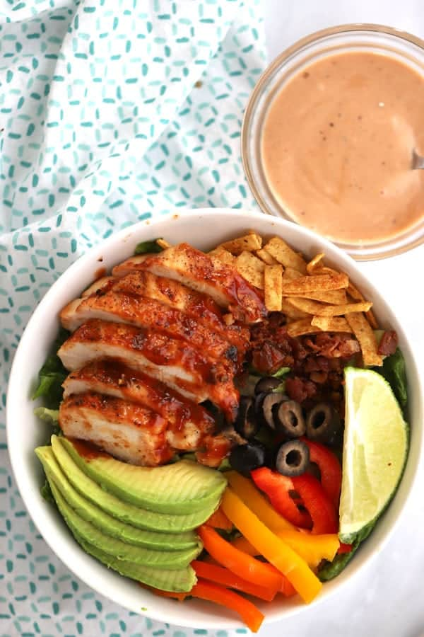 Grilled Chicken Salad ingredients