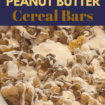 ooey gooey marshmallow and peanut butte caramel in reeses cereal puffs