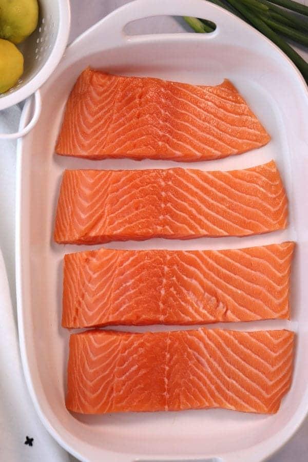 Teriyaki Glaze Salmon recipe, fresh salmon recipe