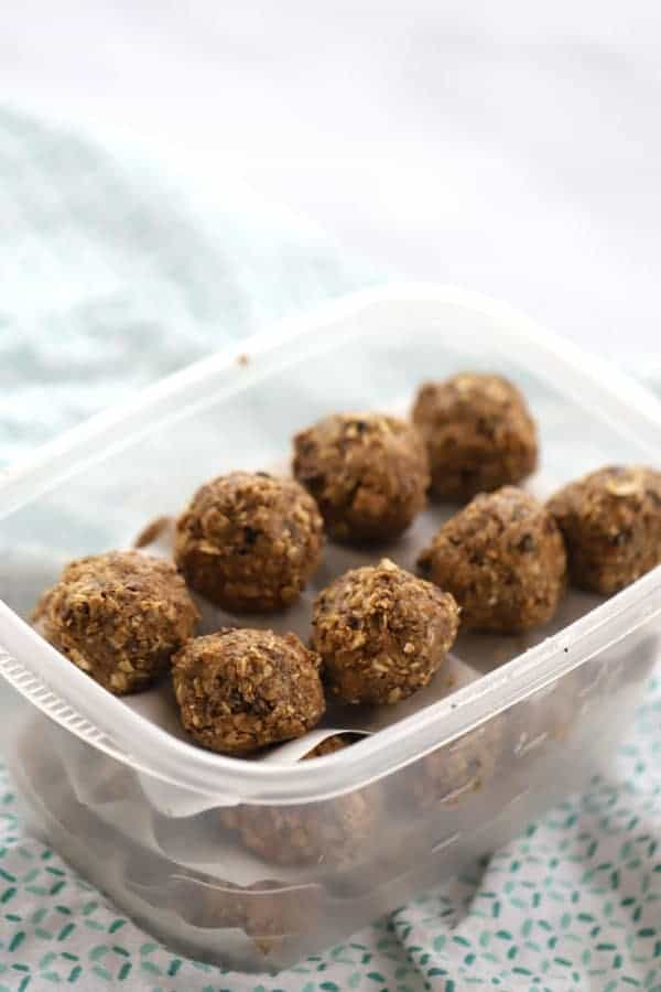 Energy Balls or Triple Chocolate Power Balls