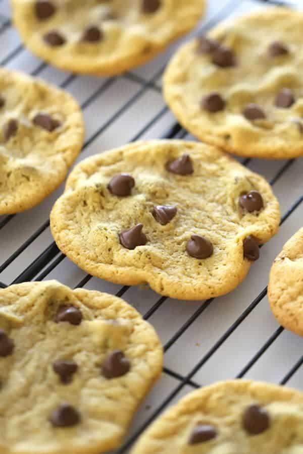 Ancient grains, einkorn chocolate chip cookies