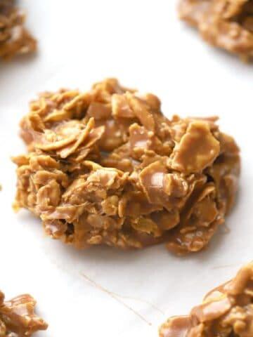 Nutella Cornflake no bake cookie