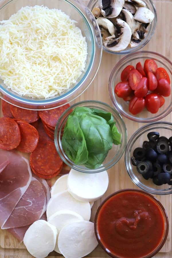 Best toppings for grilled pizza dough