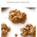 These Nutella Cornflake Cookies are irresistible!! It's one of those easy Nutella recipes you can have whipped up in about 10 minutes. Add this to the top of your list of favorite no bake cookie recipes!!