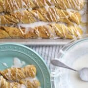 Einkorn Cinnamon bread twists