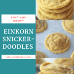 If you're wanting to experiment with some ancient grains, these Einkorn Snickerdoodleswon't disappointeven your toughest critic. These buttery, chewy and soft Einkorn Snickerdoodles are going to be a family favorite in no time.
