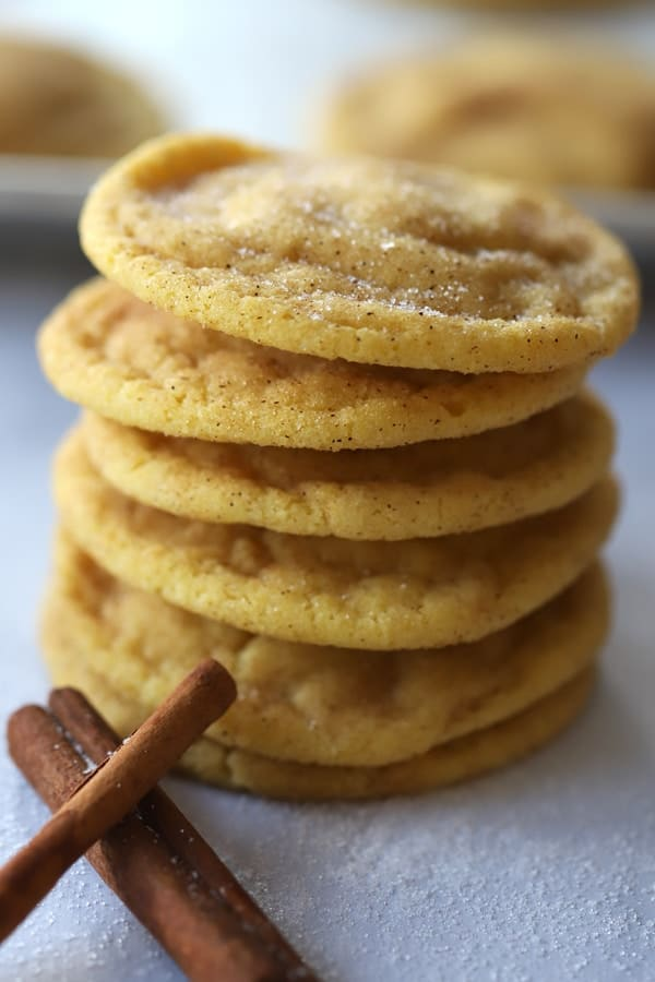 snickerdoodles made from all-purpose einkorn flour, an ancient grain perfect for gluten intolerance.