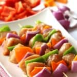 Chicken kabob with southwest marinade