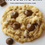 These soft and chewy chocolate chip cookies are irresistible! They have everything you love in a cookie, coconut, oatmeal, and chocolate chips, yum!