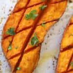 roasted sweet potatoes with chipotle and lime