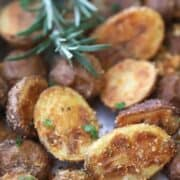 Rosemary and Parmesan Fingerling Potatoes Recipe