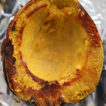 acorn squash, oven roasted
