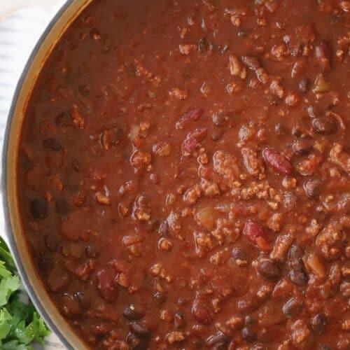 Easy Chili Recipe 30 Minute Chili Video The Carefree Kitchen