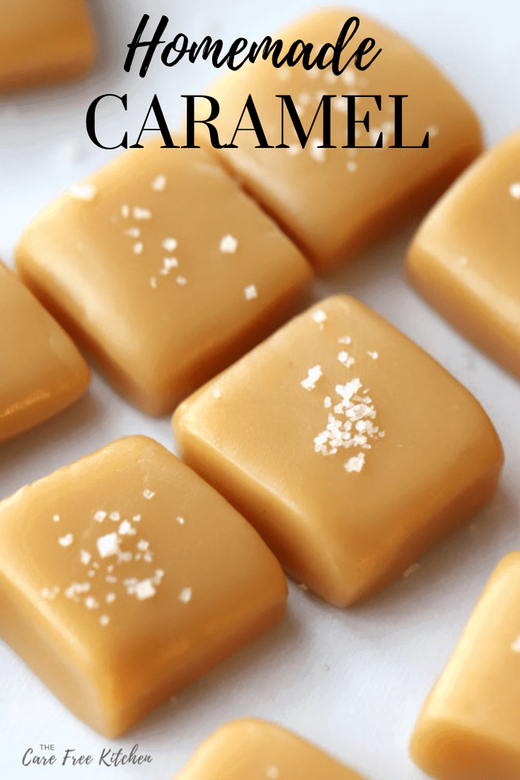This is an easy, step-by-step guide to making sweet, silky smooth, and delicious caramel.  You can use this recipe for caramel apples or just as homemade caramel candy.