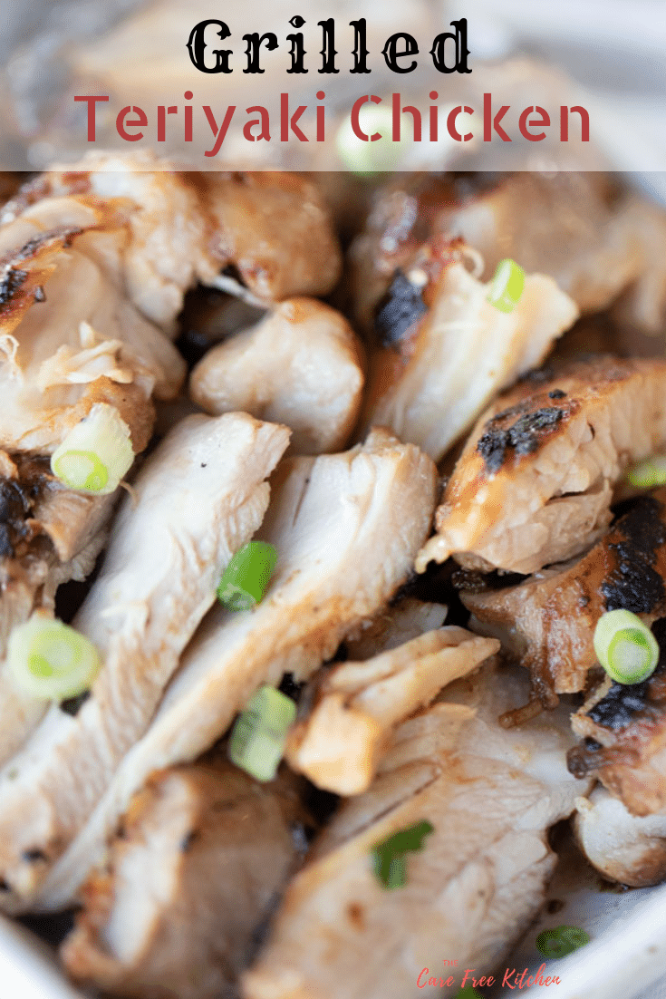 This Grilled Teriyaki Chicken is everyone's favorite year round!  It has a delicious chicken marinade that can be made in advanced.  This recipe will show you step by step how to make chicken teriyaki.  This is the best teriyaki chicken recipe! #chicken #chickenmarinade #marinade #30min #meal #dinner #grill #grilled #teriyaki #chicken #thigh #breast #tenderloin