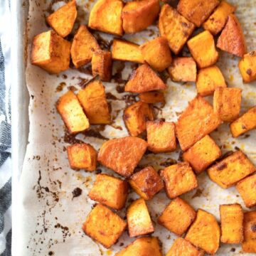 chili lime sweet potatoes