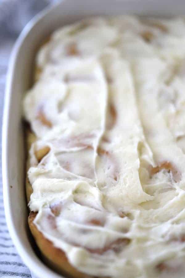 cinnamon rolls made with einkorn flour