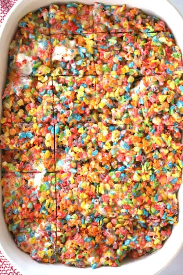 fruity pebbles rice crispy treats