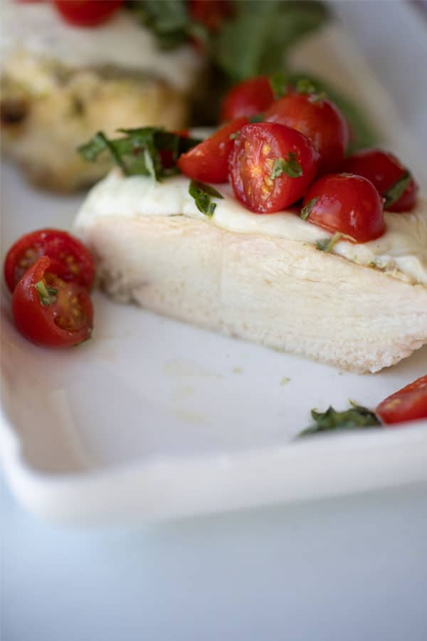 Caprese Grilled Chicken recipe