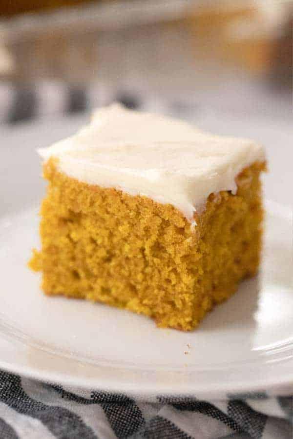 Easy Pumpkin cake recipe