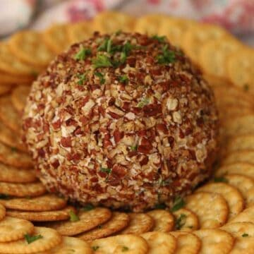 Ham and Cheddar Cheese Ball Recipe