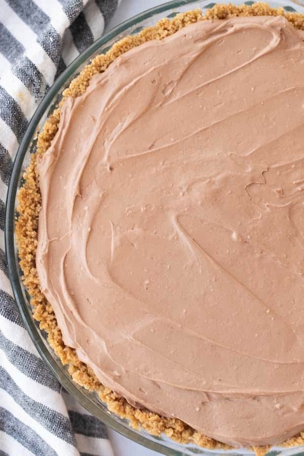 easy no bake nutella cheesecake