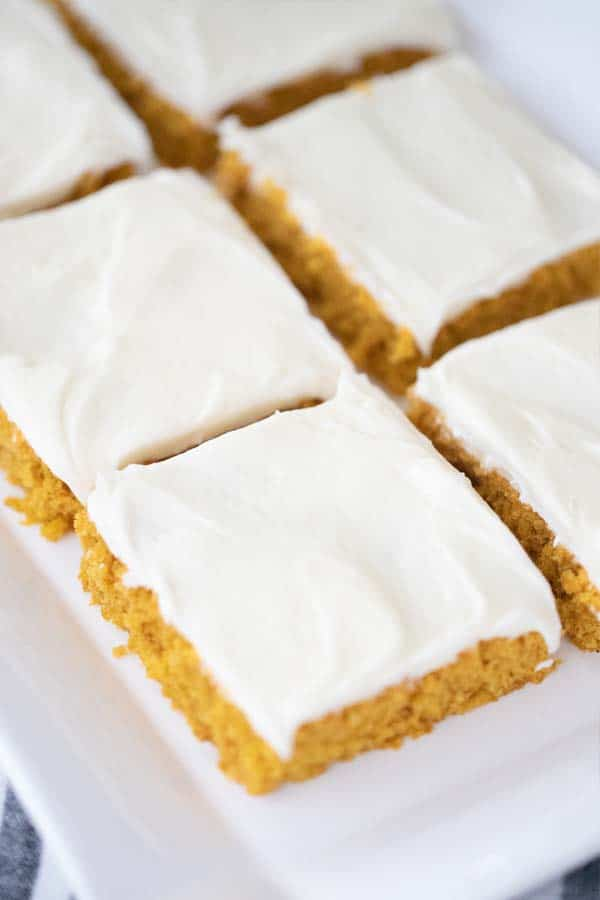 recipe for pumpkin vars with cream cheese frosting