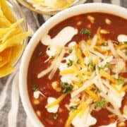southwest black bean soup reicpe