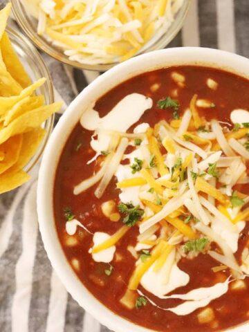 southwest black bean soup reicpe