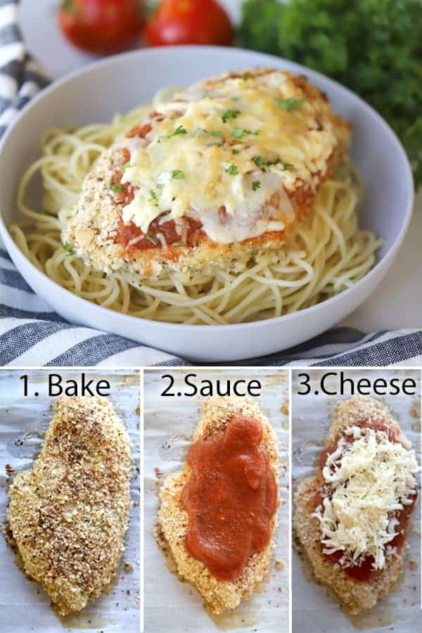 how to make oven baked chicken parmesan
