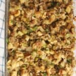 the best sausage and apple stuffing for thanksgiving