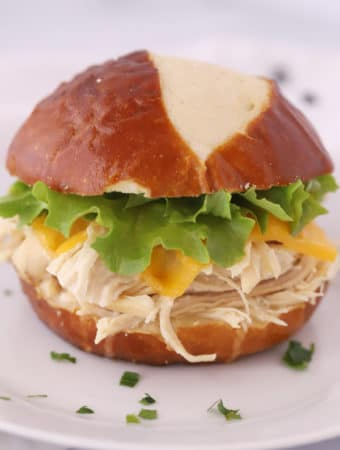 crockpot ranch sandwich