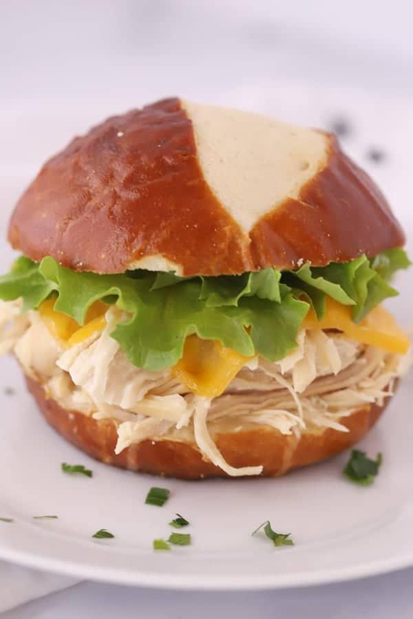 crockpot ranch sandwich