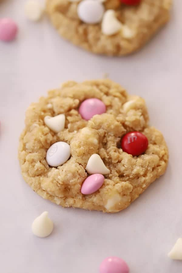 White chocolate chips coconut cookies