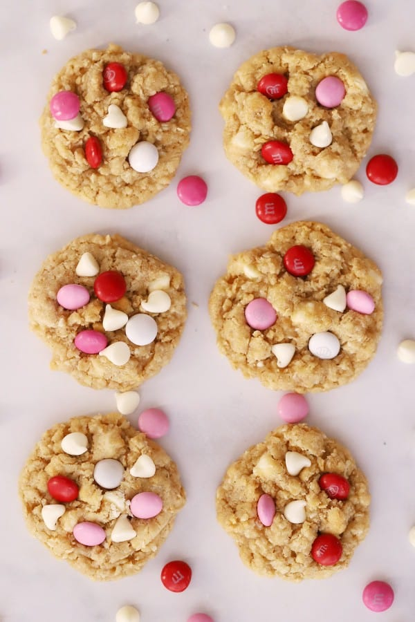 coconut and white chocolate cookies