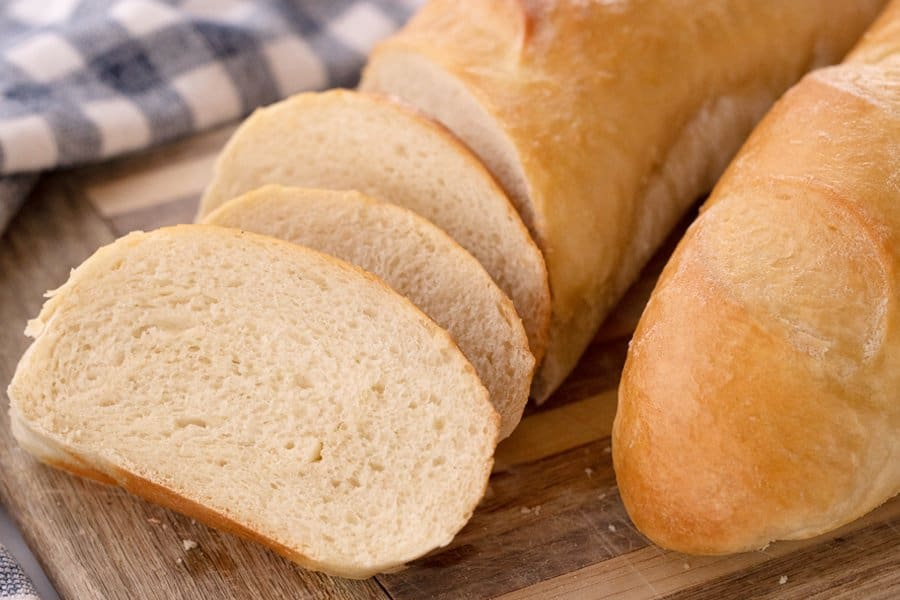 Classic French Bread sliced