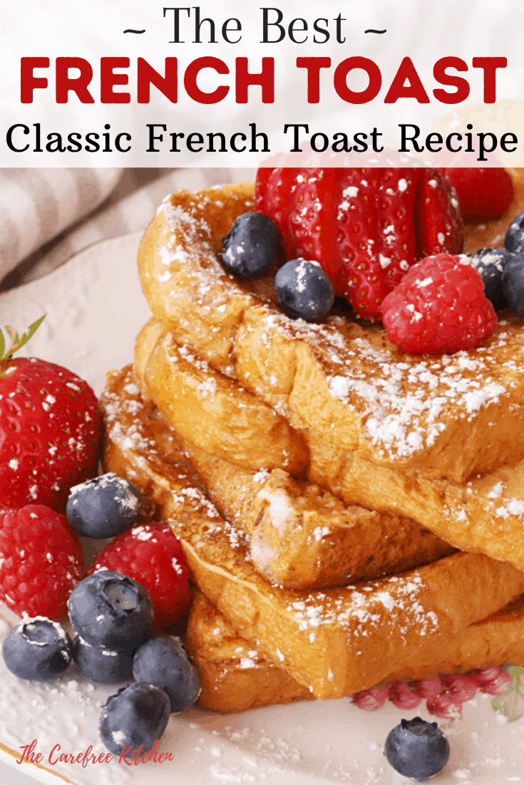 pinterest pin for Classic French Toast