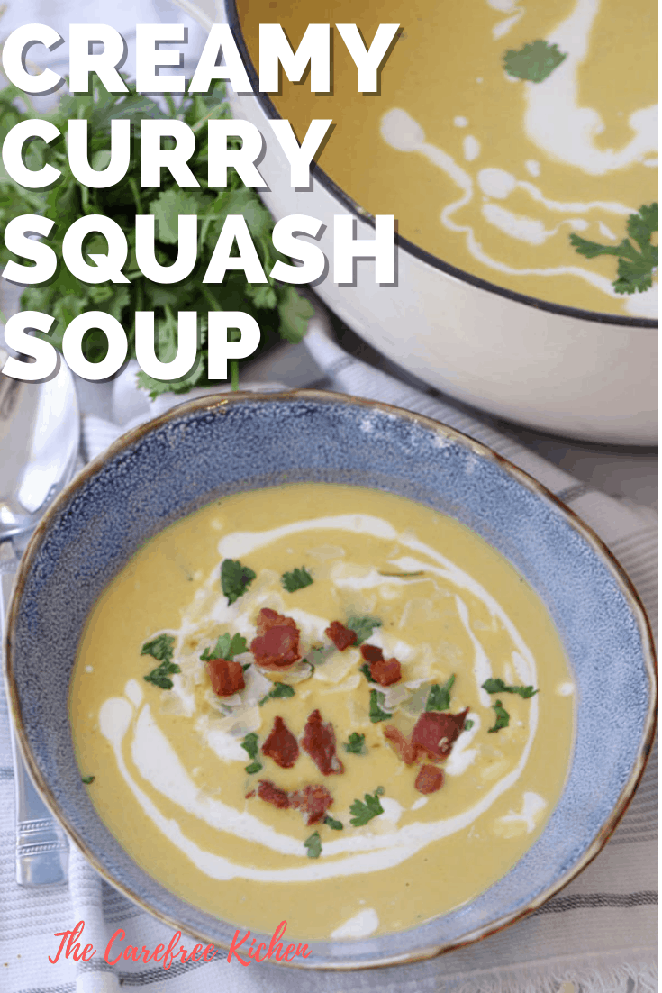 pinterest pin for curry squash soup