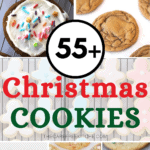 pinterest pin for christmas cookies