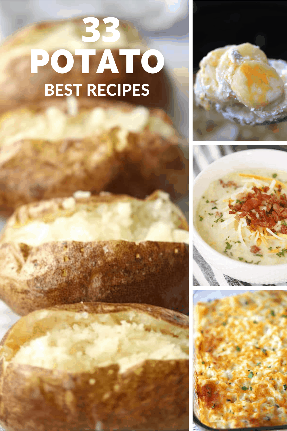 pinterest pin for the best potato reicipes